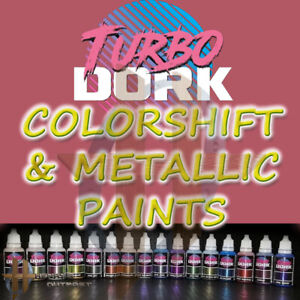 Turbo Dork Turboshift - Colorshift and Metallic Paints 20ml Free Shipping $35+