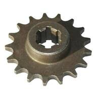 17T Front Engine Pinion Sprocket Fit 47cc 49cc Mini Moto Dirt Bike T8F Chain