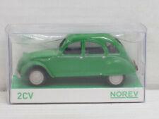 Citroen 2 CV Ente in grün, Norev, OVP, 1:43