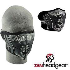 Zan Headgear Neoprene Half Face Mask Alien Cold Gear Winter Riding Mens Womens