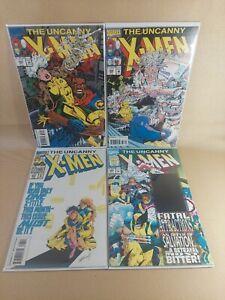 Uncanny X-Men Marvel Comic (1981 series) #303, 305, 305, 306 8.5 (VF+) or Better