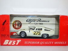 Model Best Alfa Romeo TZ1 No.275 1963 Targa Florio '65 REF: 9061