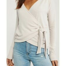 Abercrombie & Fitch Cozy Wrap Top (Size XS)