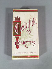 Vintage Complementary Chesterfield Cigarettes Sample Box