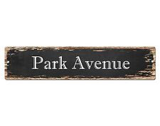 SP0506 PARK AVENUE Street Sign Home Room Cafe Store Shop Bar Chic Decor Gift