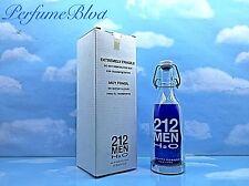 212 MEN H2O CAROLINA HERRERA 3.4 FL.OZ 100 ML EAU DE TOILETTE SPRAY ORIGINAL BOX
