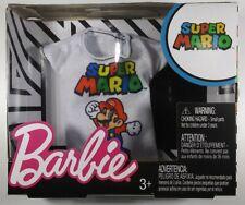 Barbie Nintendo Super Mario camisa Mattel Video Juego De Colección Nuevo/Sellado