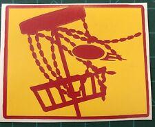 "6"" Wyoming Disc Golf Vinyl Decal"