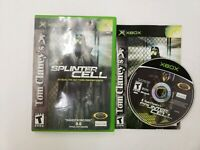 Splinter Cell Stealth Action Redefined for Original Xbox NEAR MINT DISC