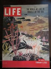 Life Magazine World We Live In Miracle of the Sea 1953 Newsstand No Label