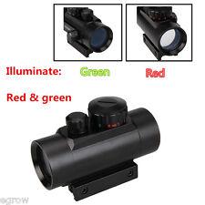 Portée de Vue Tactique Rouge et Vert Dot Illuminé Laser RD1X30 Lunette de Visée