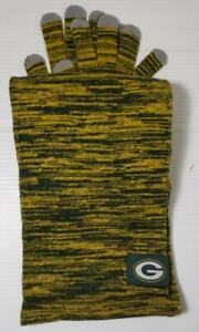 NEW WOMEN NFL GREEN BAY PACKERS Licensed Color Blend SCARF & GLOVE SET