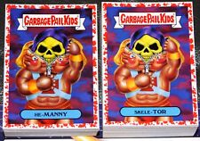2018 GARBAGE PAIL KIDS WE HATE THE 80'S COMPLETE RED SET 180 CARDS COLLECTOR