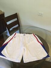 Los Angeles Clippers Paul Pierce White Game Worn Team Issued Adidas Shorts 2XL2