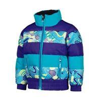 Spyder Girls Bitsy Duffy Puff Jacket, Snow Ski Winter Jacket Size 3T Girls, NWT