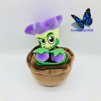 "9.2"" PLANTS vs. ZOMBIES PVZ  plaything Plush Toy Stuffed Doll Teddy flower pot"