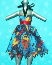 Monster High Inner Monster Doll Outfit Fearfully Feisty Fire Flame Phoenix Dress