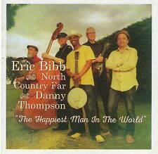 ERIC BIBB & NORTH COUNTRY FAR - THE HAPPIEST MAN IN THE WORLD 2016 CD Jewel Case