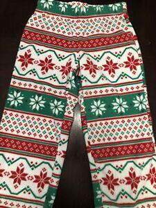 JAMMIES FOR FAMILIES-WE CAME*WE SAW*WE JINGLED Pajamas Bottom SIZE 4T