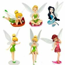 Tinkerbell Cake Figure Topper Toy Fairy Princess Cake Decorations Disney Fairies