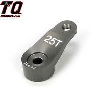 TLR Servo Horn, 25T Aluminum: 22 22sct 2.0 TLR1557 Fast Ship wTrack#