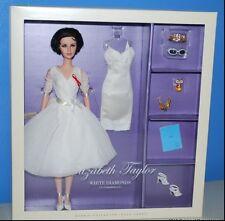 Elizabeth Taylor White Diamond Barbie SilkStone Doll Gold Label MIMB Robert Best
