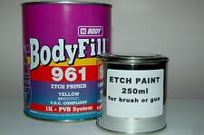 ACID ETCH PRIMER 250ml Galvanised Steel Aluminium bare metal antirust