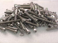 Harley Davidson Softail Twin Cam TC96B engine covers Stainless Allen Bolts kit