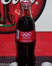 2012 LONDON OLYMPIC'S U. S . VERSION 8 OUNCE GLASS COCA COLA BOTTLE