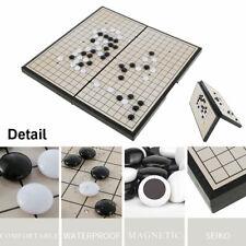 Go Board Game Set Magnetic Portable Folding Strategy Board Game Weiqi AU