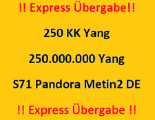 Metin 2 Server 71 Pandora 250kk Millionen Yang EXPRESS Übergabe! Sonderangebot!