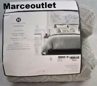 Hotel Collection Connection 100% Cotton FULL / QUEEN Duvet Cover Gray