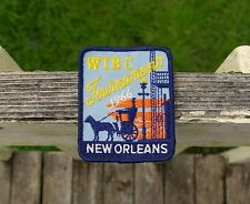 "WIBC Tournament 1966 New Orleans 3 1/4"" Bowling Embroidered Patch"