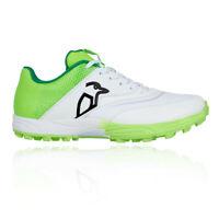 Kookaburra Mens KC 2.0 Rubber Cricket Shoes - Green White Sports Breathable