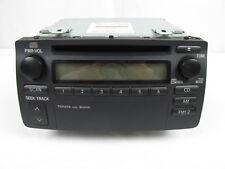 Toyota Corolla OEM AM FM Radio and Single CD Player 86120-02270 2003 2004 2005
