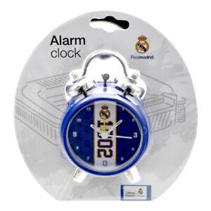 Real Madrid Alarm Clock Official Merchandise Bedroom Gift Idea Established Date