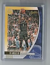 19-20 Absolute Memorabilia D'Angelo Russell Gold #04/10