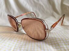 Revlon Gold Light Tortoise RX Sunglasses 56 17