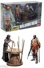 THE WALKING DEAD TV MORGAN & IMPALED ZOMBIE DELUXE SET McFARLANE TOYS - IN STOCK