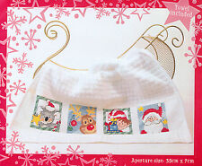 Semco Christmas Cross Stitch Towel kit - BNIP