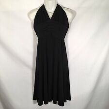 A B S Allen Schwartz Evening Halter Dress Womens Size M