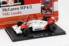 Niki Lauda McLaren MP4/2 #8 Weltmeister Formel 1 1984 1:43 Altaya