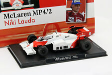NIKI LAUDA McLaren MP4/2 #8 Campeón del mundo Fórmula 1 1984 1:43 Altaya