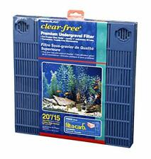 Premium Aquarium Undergravel Filter 20 Gallon Penn Plax Filters 10 Fish 55