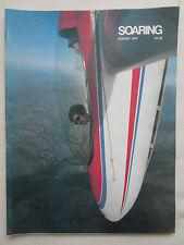 REVUE SOARING 8/1977 SMIRNOFF SAILPLANE PLANEUR GEMINI AS-W 19 SCHWEIZER CLUB 35