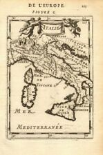 ITALY. Italian states. 'Italie'. Decorative. MALLET 1683 old antique map chart
