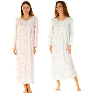 Women/'s Ladies Short Sleeve Nightdress Jersey Cotton S M L XL XXL by La marquise
