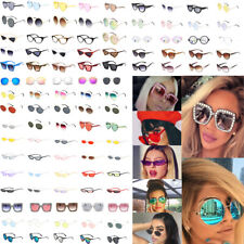 Fashion Women Oversize Square Oval Frame Sunglasses Cat Eye Retro Small Glasses