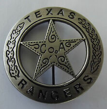 OLD WEST - TEXAS RANGER - HIGH QUALITY  -- Brass  Badge - .  E040904