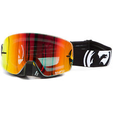 Dragon NEW Mx NFXs Frameless Inverse Ion Red Ionized Motocross Dirt Bike Goggles